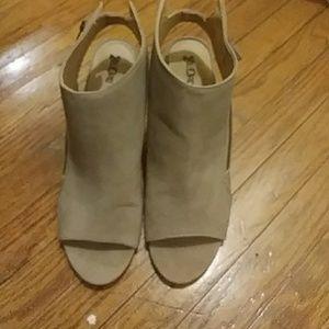 Brash Brand size 12 sling back wedge shoe